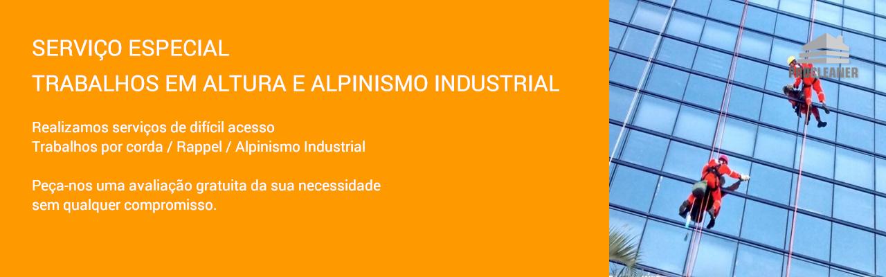 Trabalhos em Altura e Alpinismo Industrial
